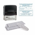 Штамп самонаборный Colop Printer C50-Set-F  6/8 строк